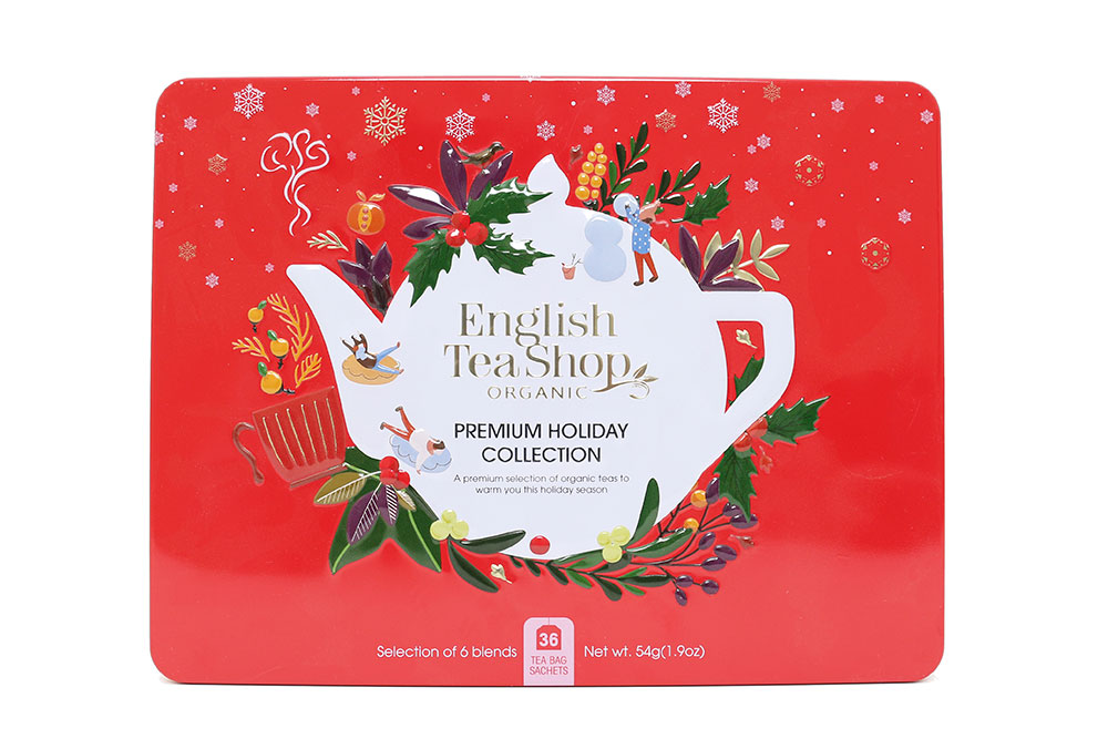 English Tea Shop : Coffret collection Holiday Rouge