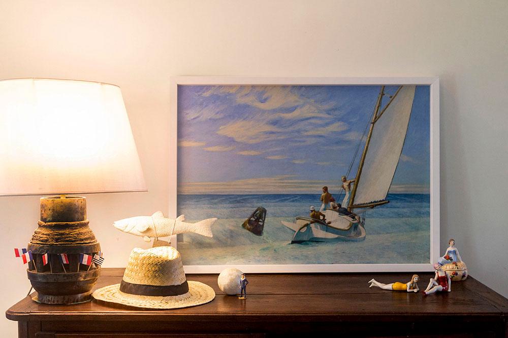 Mettez un Hopper dans votre salon…