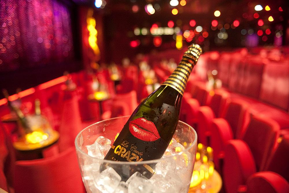 Le Crazy Horse : champagne