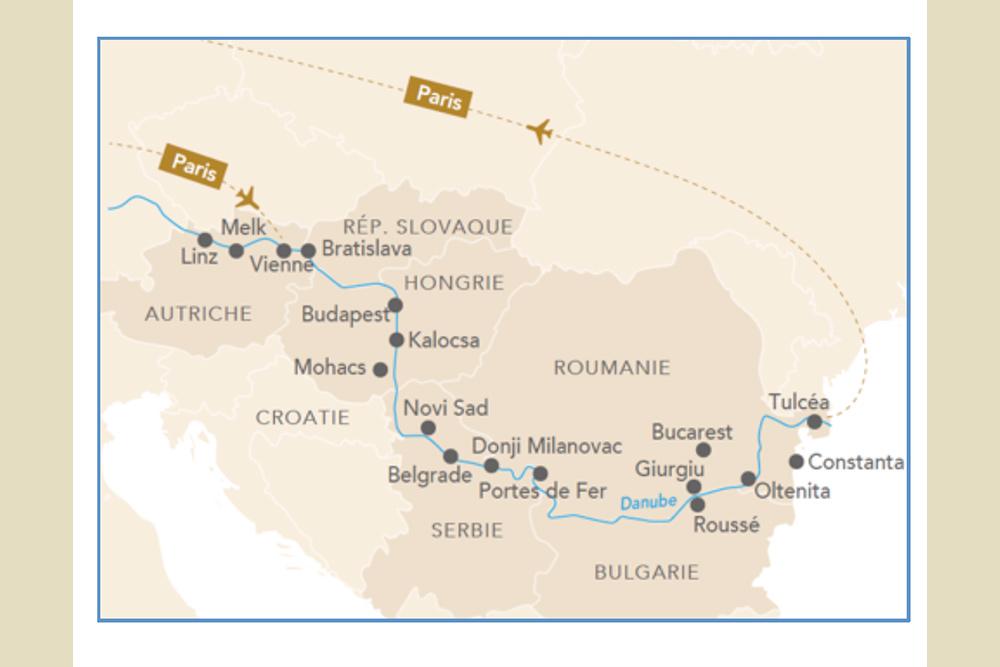 Du Danube à la mer Noire