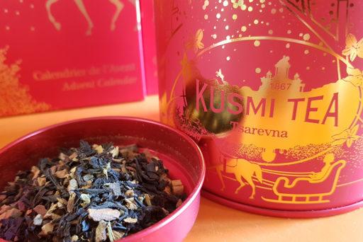 Kusmi Tea se pare de rouge pour les fêtes
