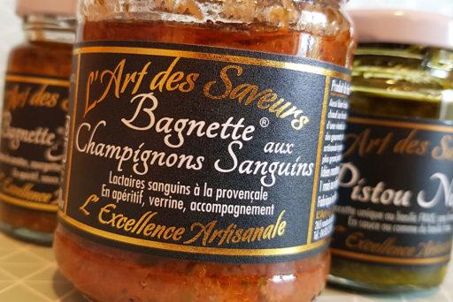 Tartinables et condiments L'Art des Saveurs