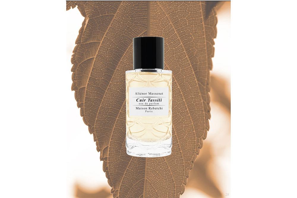 Eau de parfum Cuir Tassili :Cuir floral épicé