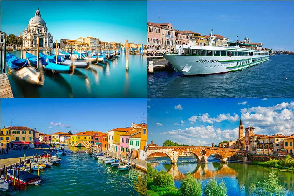 Venise et la vallée du Pô