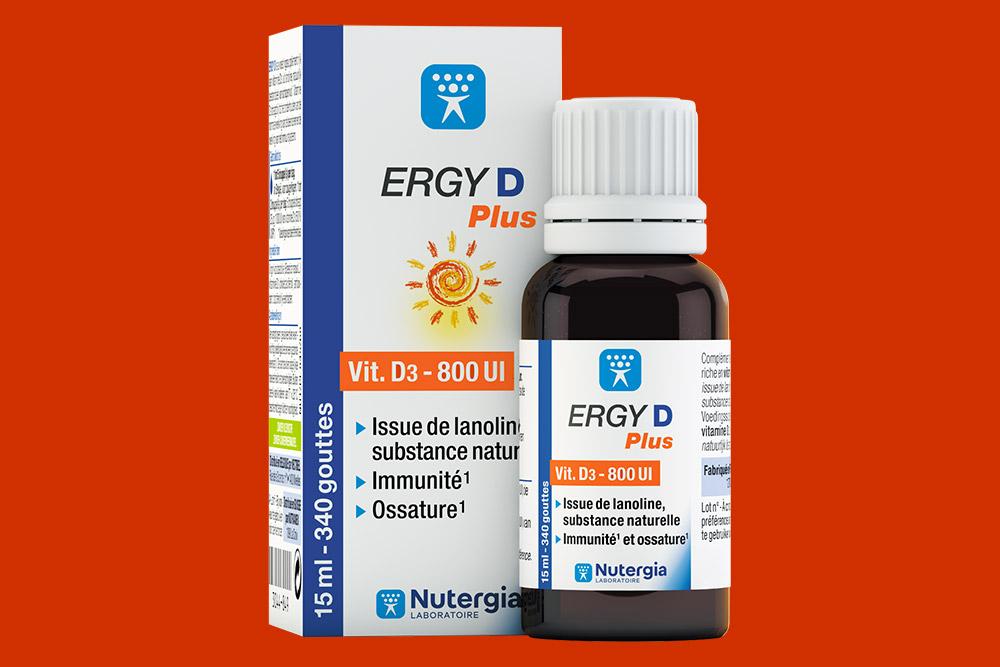 Vitamine - D : Ergy D Plus
