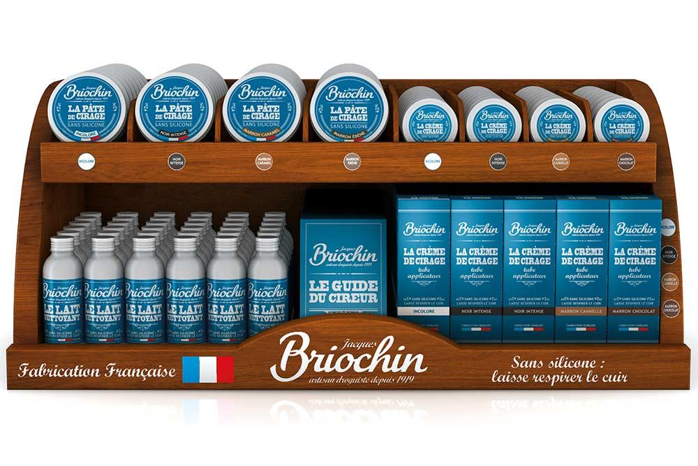 Jacques Briochin : Produits pour le cuir