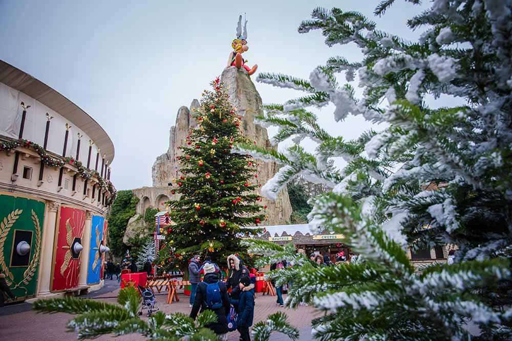 Noël Gaulois au Parc Astérix