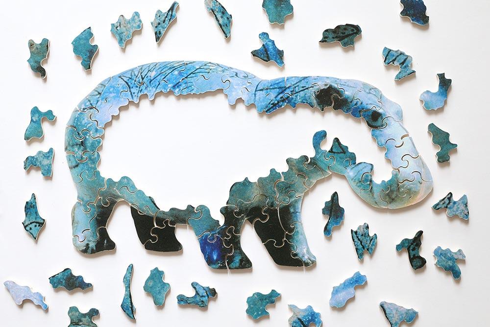Puzzle Michèle Wilson : Hippopotame