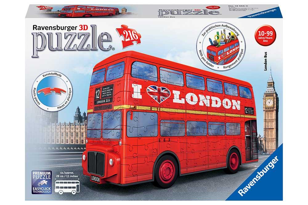 Ravensburger : Puzzle Le Bus Londonien
