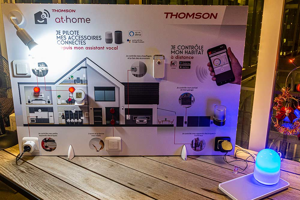 Thomson At Home, rend la maison intelligente.