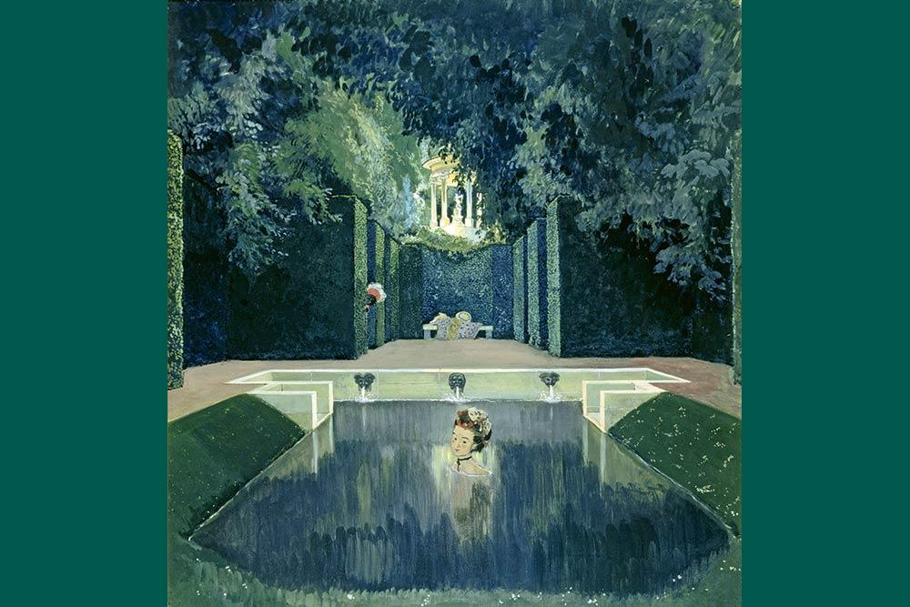 Cela s'est passé en juin & juillet selon Dangeau Versailles-bain-marquise