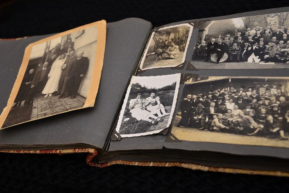 Album de photos anciennes