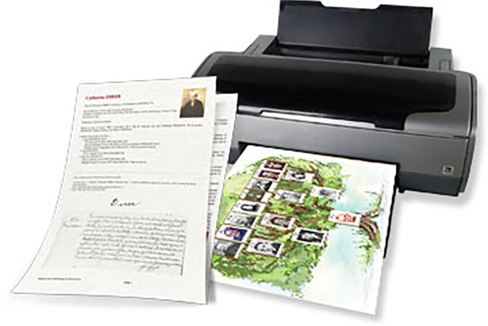 Geneatique - imprimante et documents