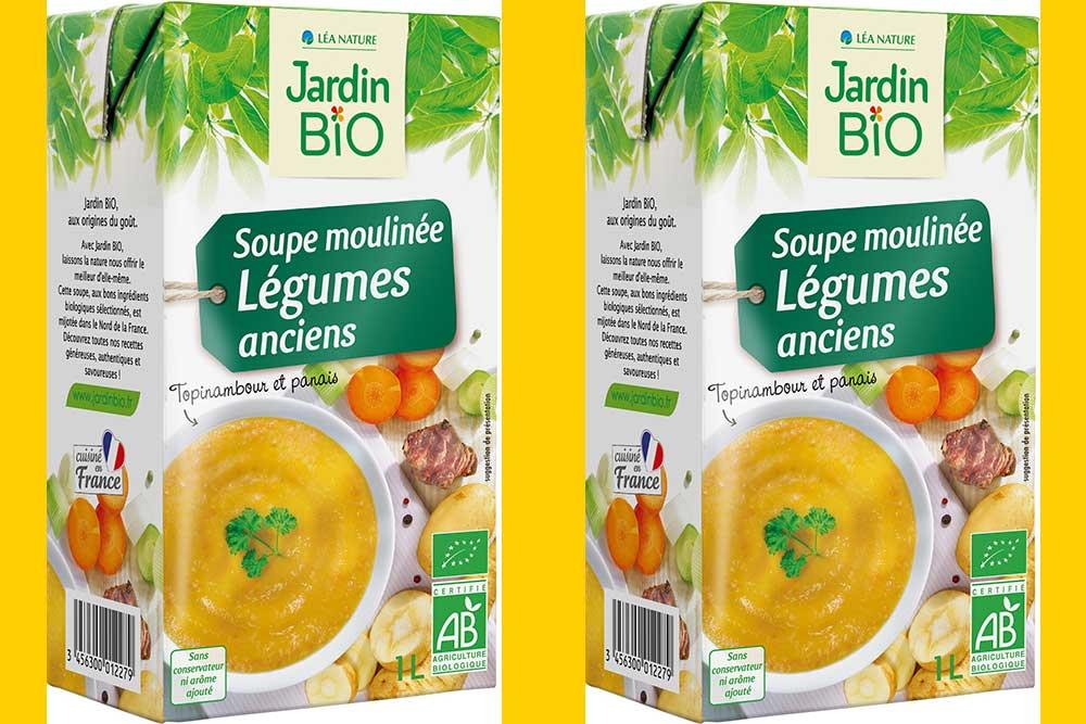 Soupe aux Légumes Anciens de Jardin Bio