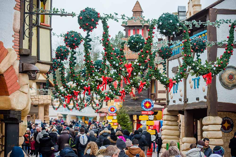 Parc Astérix : le Noël Gaulois