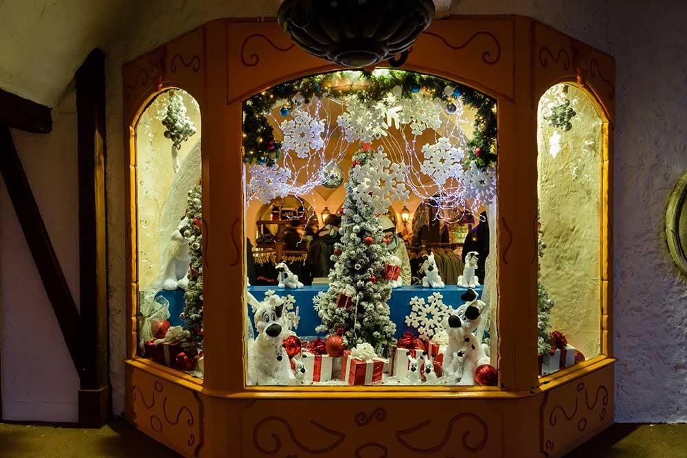 Noël - Gaulois au Parc Astérix