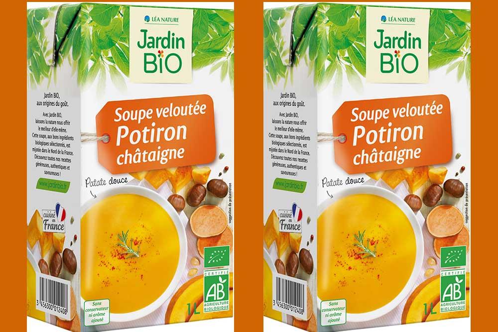 La Soupe Potiron et Châtaignes