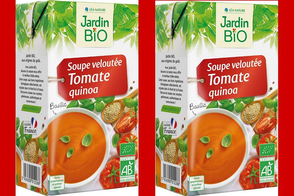 Soupe velouté Tomate et Quinoa