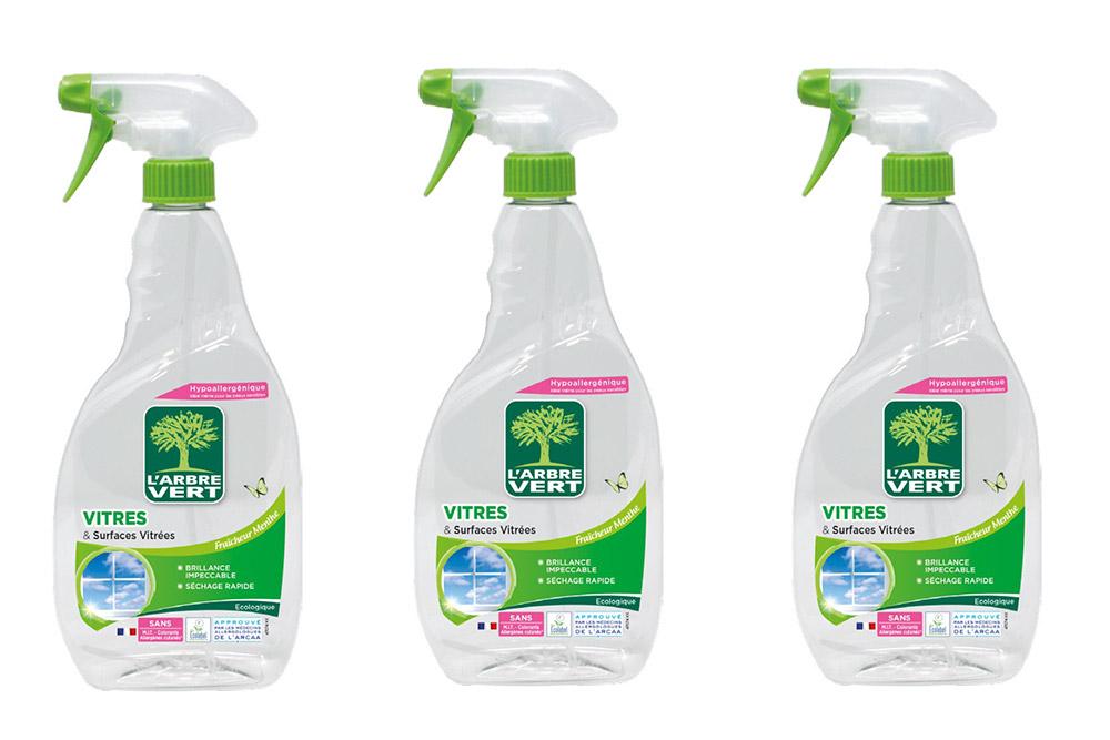 Arbre Vert : Spray Vitres