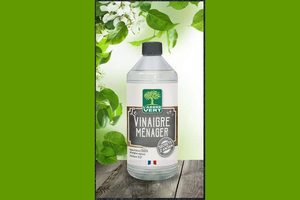 Arbre Vert : Vinaigre ménager
