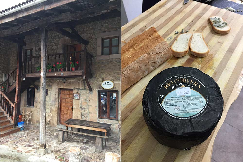 Liébana - Auberge de Cicera et Fromage de brebi (Quesos Rio)