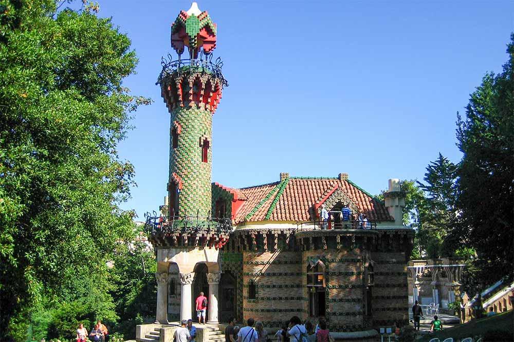 El Capricho d'Antoni Gaudi à Comillas