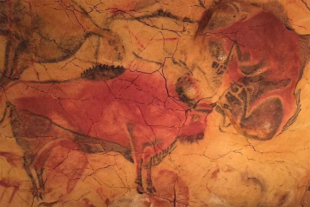 Peinture des grottes d'Altamira