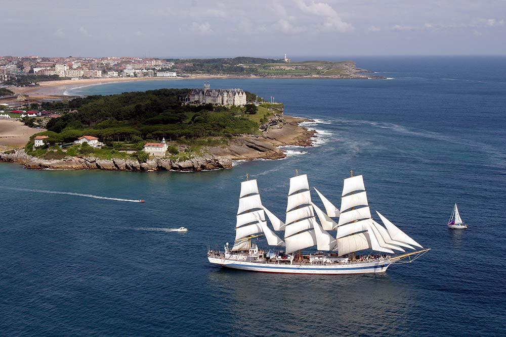 La Cantabrie - La baie de Santander et la péninsule de la Magdalena