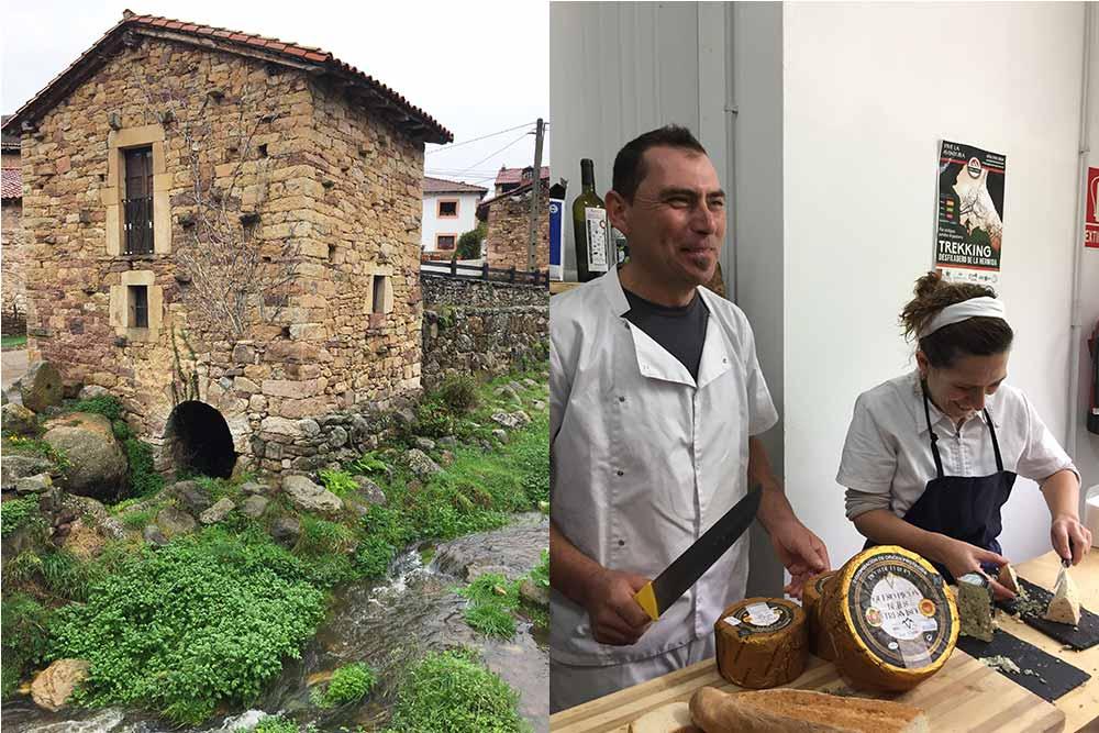 Cicera et les fromagers de Quesos Rio