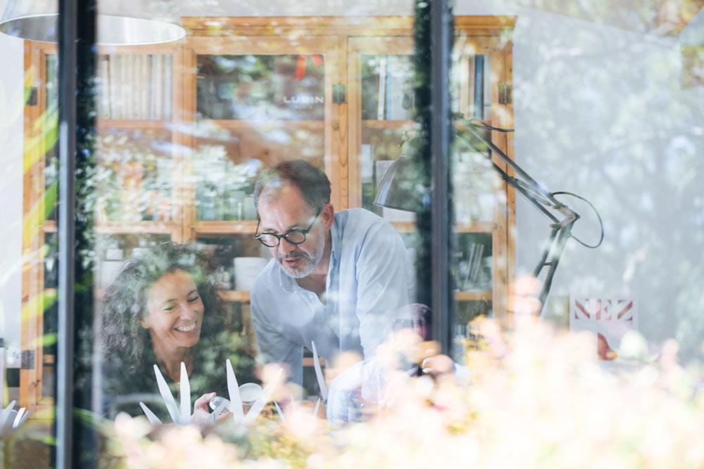Delphine Thierry et Patrice Bouëxel