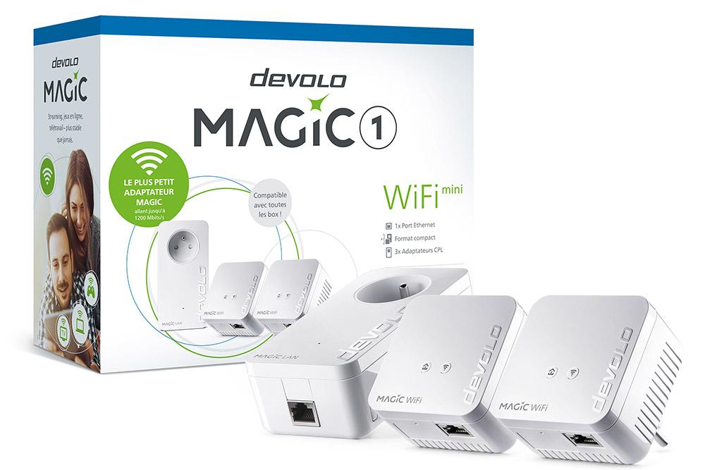 Devolo - prises Magic 1 Wifi mini