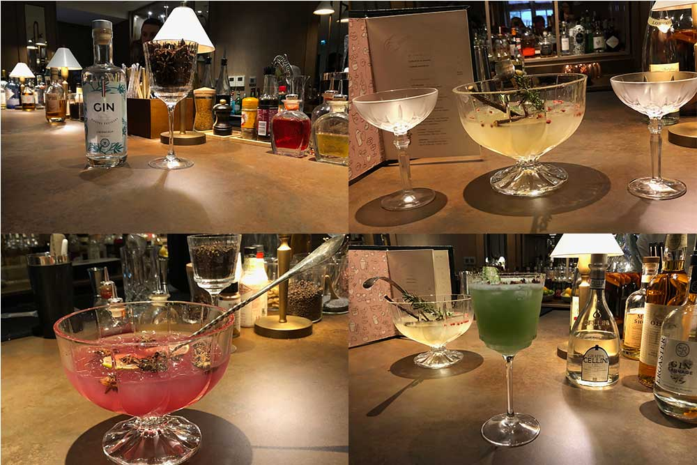 L'Hôtel Hyatt Regency - Bar Le condé Les Cocktails