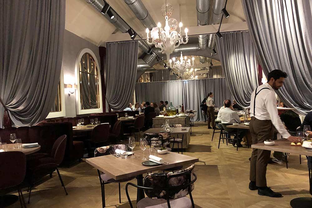 L'hôtel Hyatt Regency - Le restaurant Nord