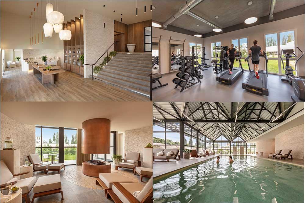 Le Spa, sa piscine et sa salle de sport