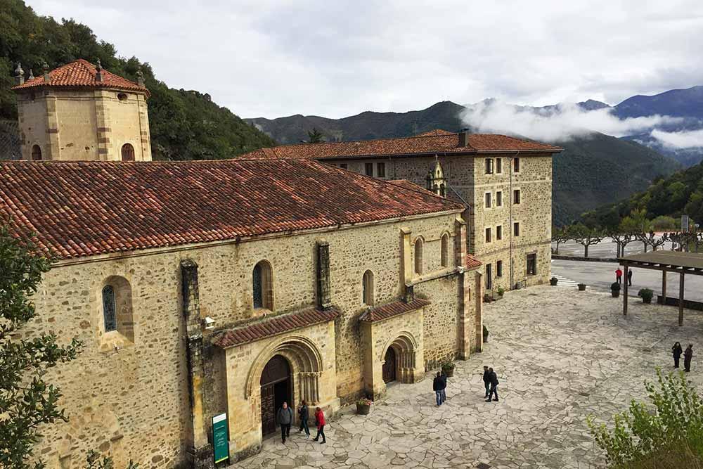 Liébana - Le monastère de Santo Toribio de Liébana