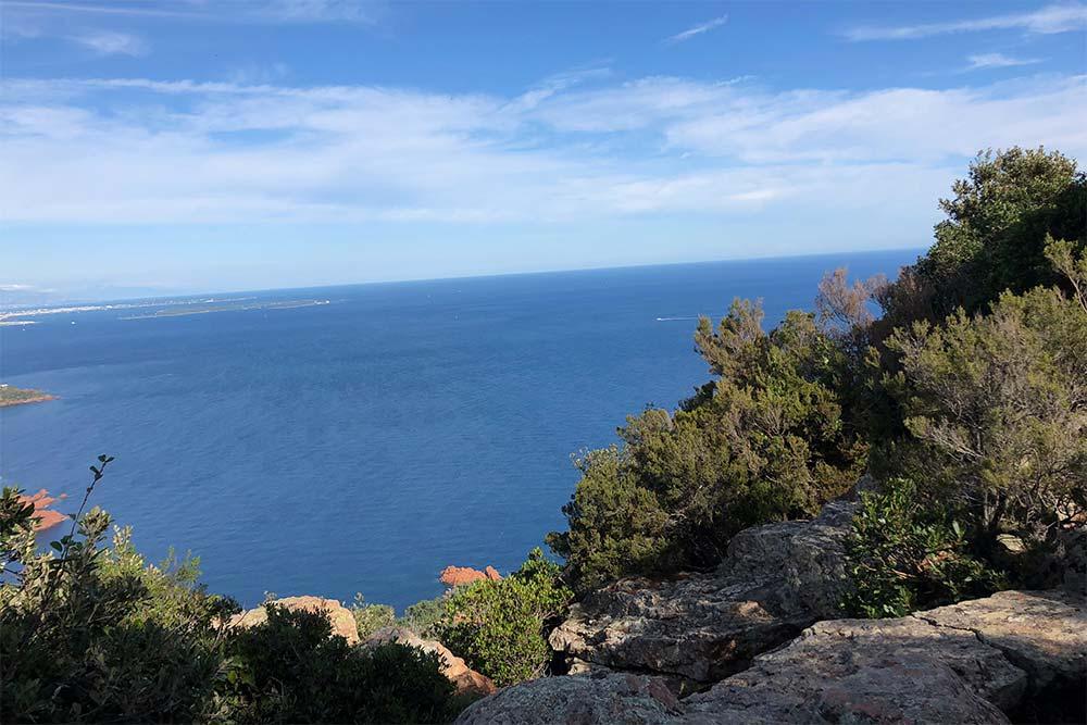 Esterel Côte d'Azur : Vue du Pic d'Aurèle