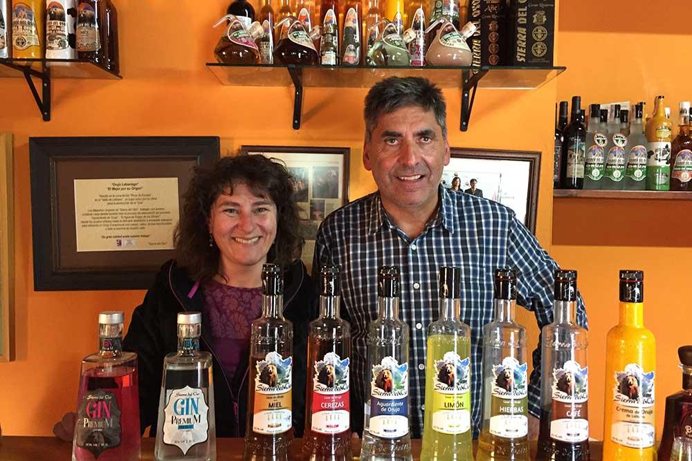 Les producteurs d'eau de vie Sierra del Oso