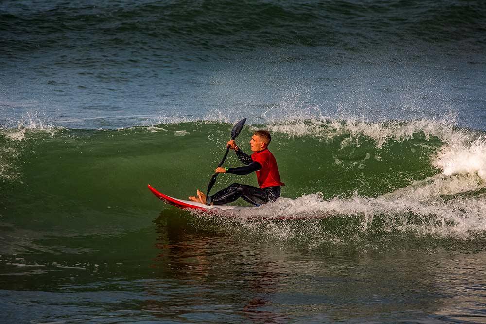 Les - Sables d'Olonne : -Nous avons découvert le Wave-ski sur la plage du Tanchet lors des Championnats d'Europe.