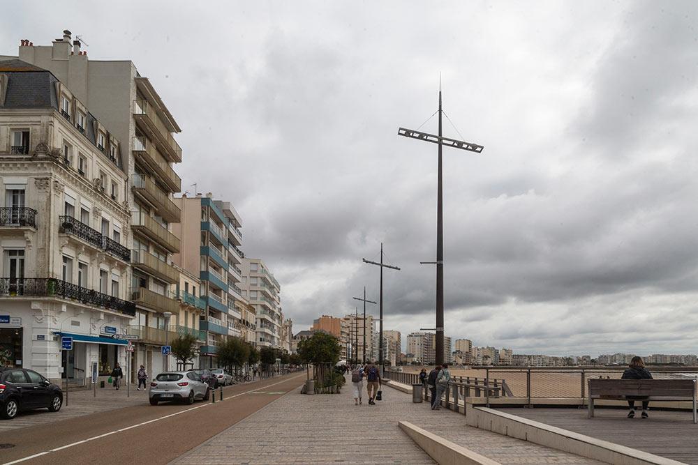 Les - Sables d'Olonne : Le front de mer….