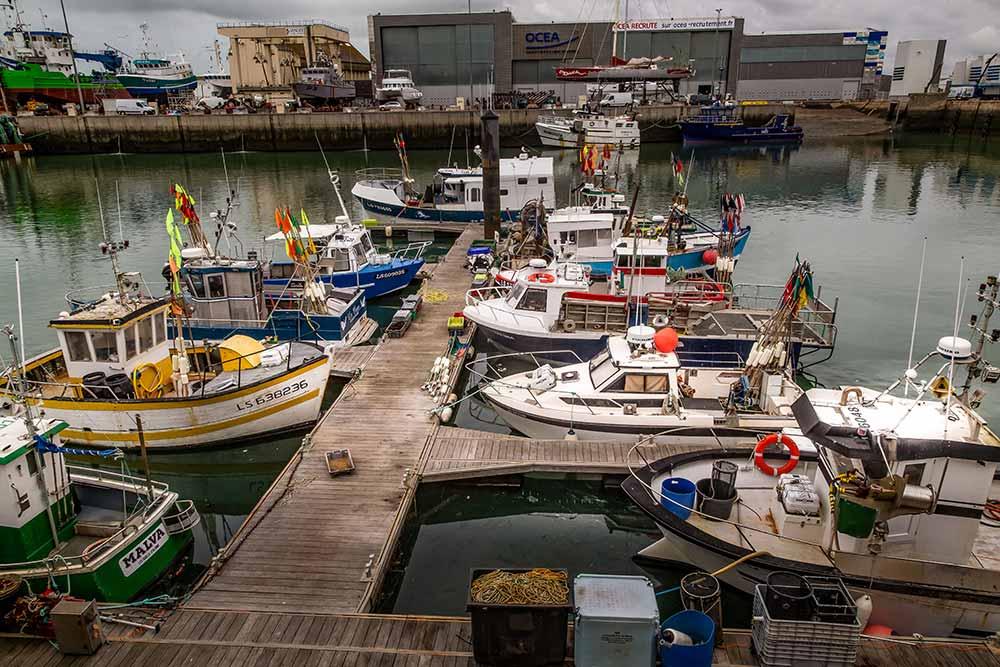 Les Sables d'Olonne compte trois ports: pêche, plaisance et commerce.