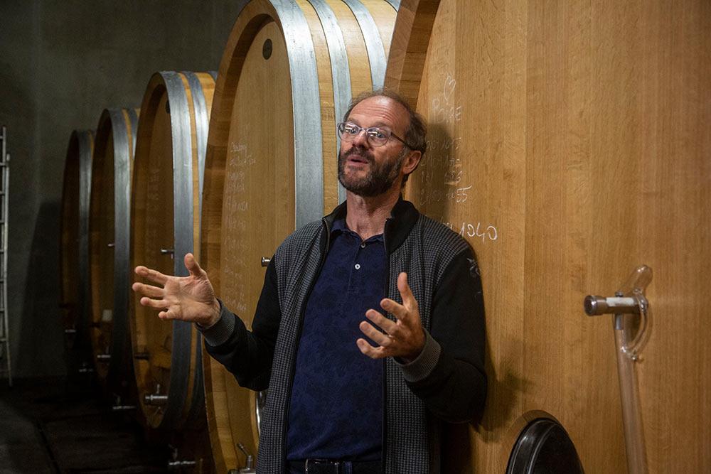 Les - Sables d'Olonne : Thierry Michon vous racontera le vin biodynamique avec passion.