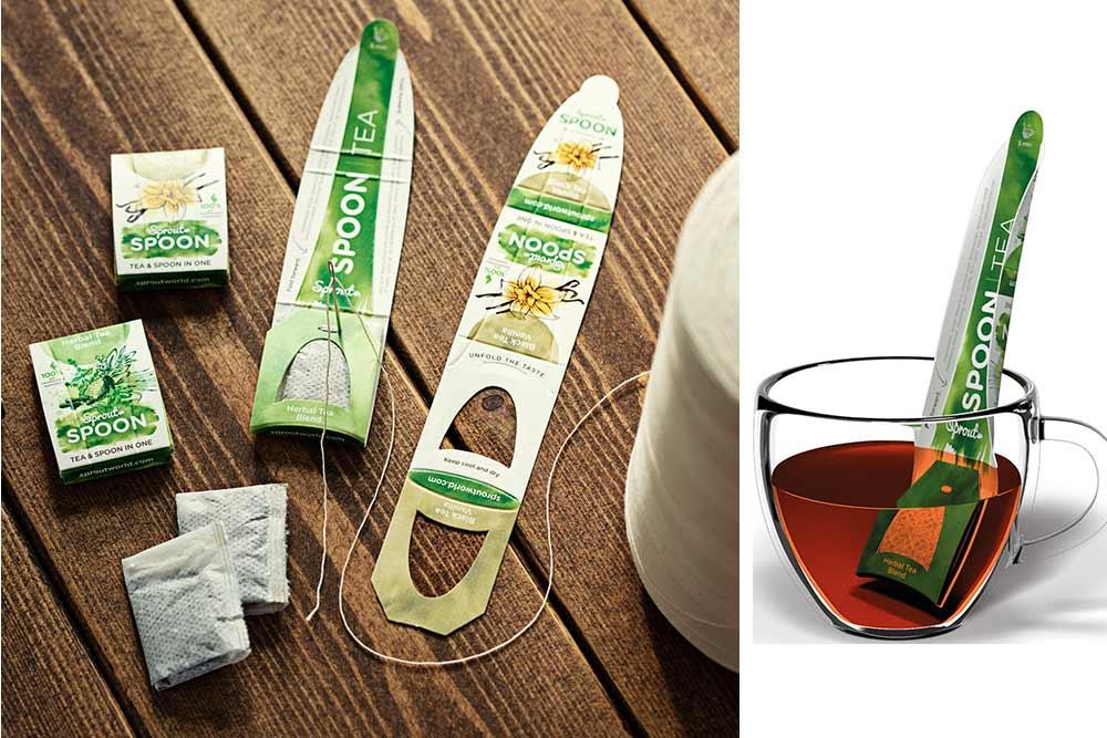 Sprout Spoon : Cuillère à Thé Biodégradable