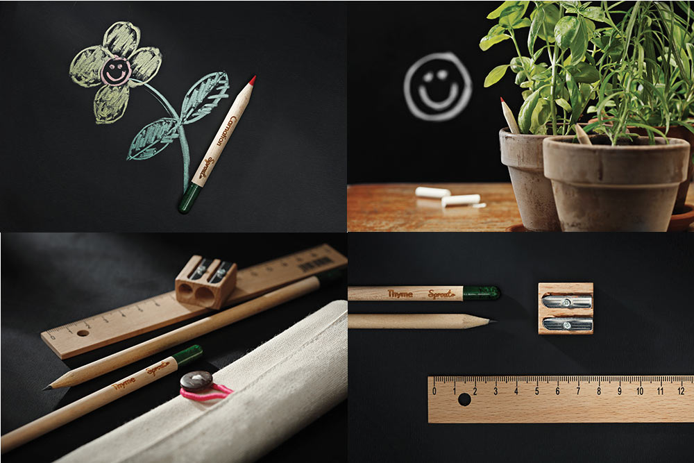 Sprout - Spoon : crayons à planter