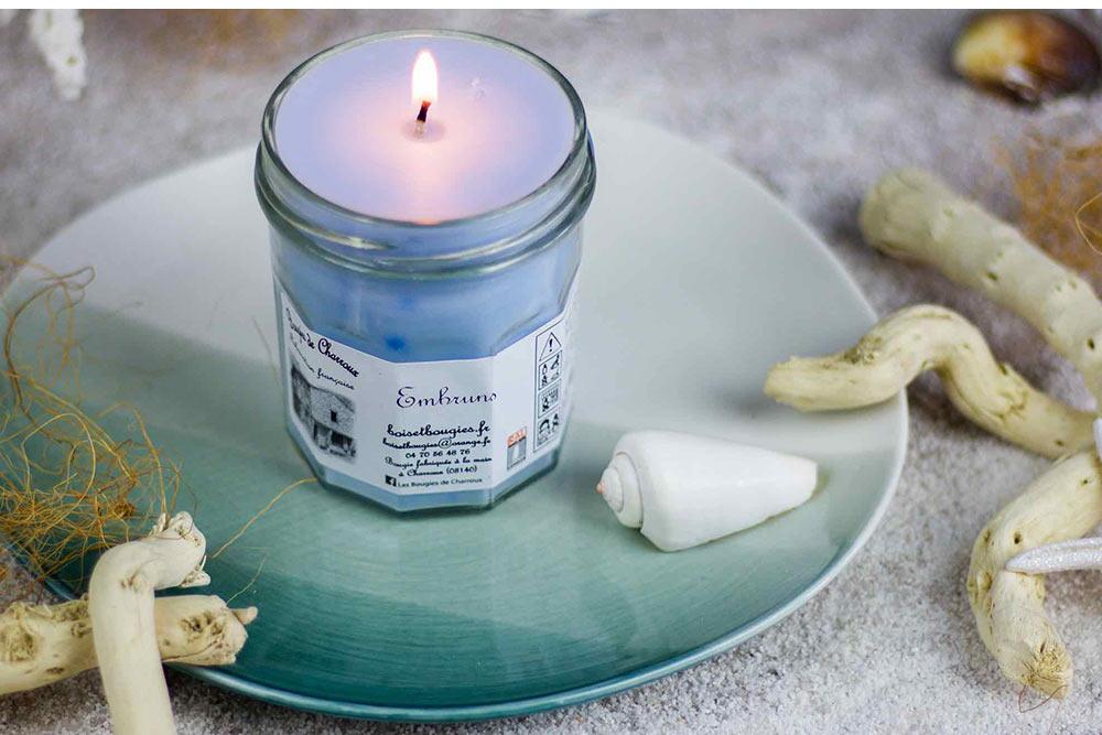 Embruns : Bougies de Charroux