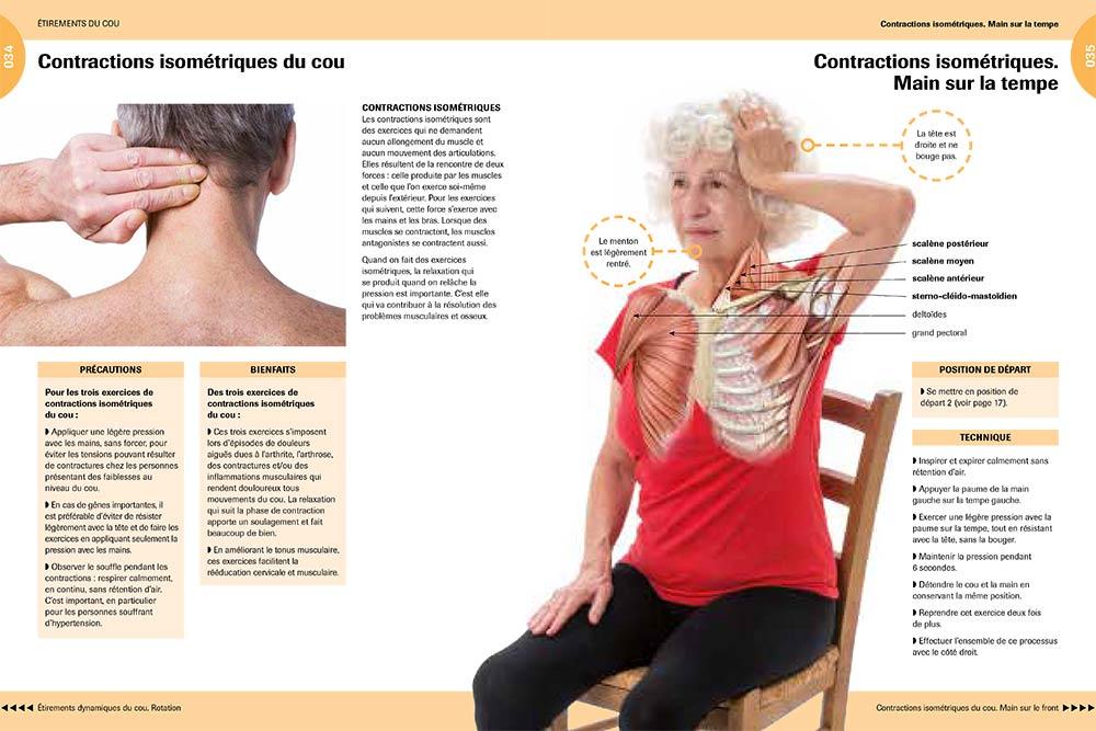 Contractions Isométriques du cou