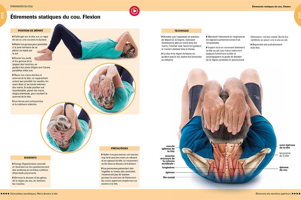 Gymnastique - Etirements statiques du cou et Flexion