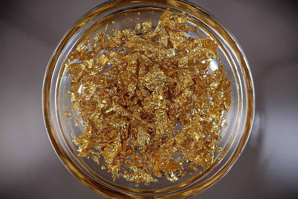 Feuilles d'Or de la Cloche à Bougie