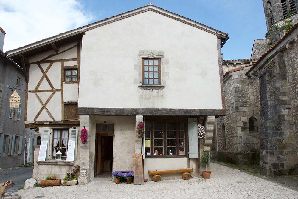 Maison à Colombage des Bougies de Charroux