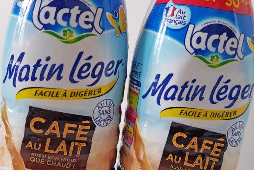 Café au lait Matin Léger de Lactel