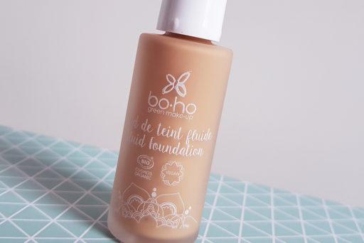 Boho Green Make-Up : un fond de teint fluide bio, naturel et vegan.
